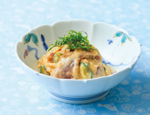 レシピ「鰹の味噌和え」