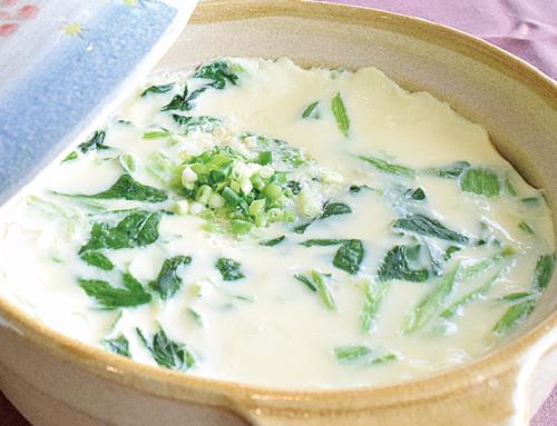 かりゆしホテルズシェフ考案  オキハム商品を使った 絶品料理「中味汁・軟骨ソーキ」