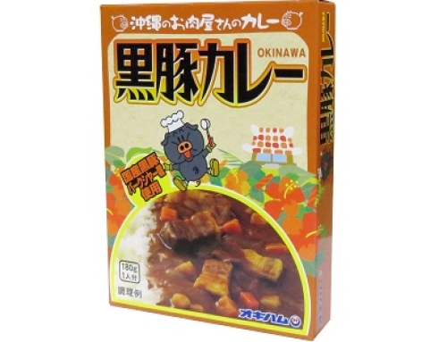 Delicious Okinawan Cuisine, Berkshire Pork Curry 180g