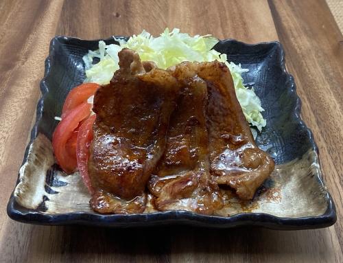 ジンジャーシロップde生姜焼き