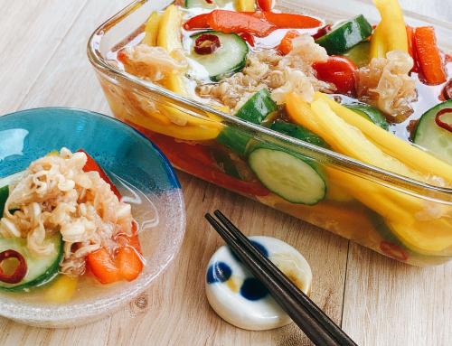 ミミガーと野菜のピクルス